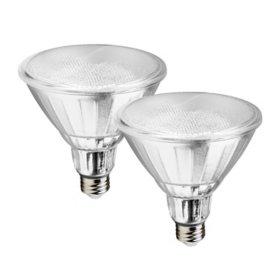Geeni Smart Indoor/Outdoor LUX Flood Light Bulb (2 Pack)