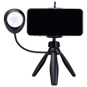 Tabletop Tripod with Light