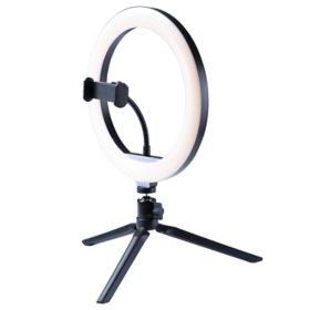 "8"" Ring Light - Tabletop Tripod - Bluetooth  Remote"