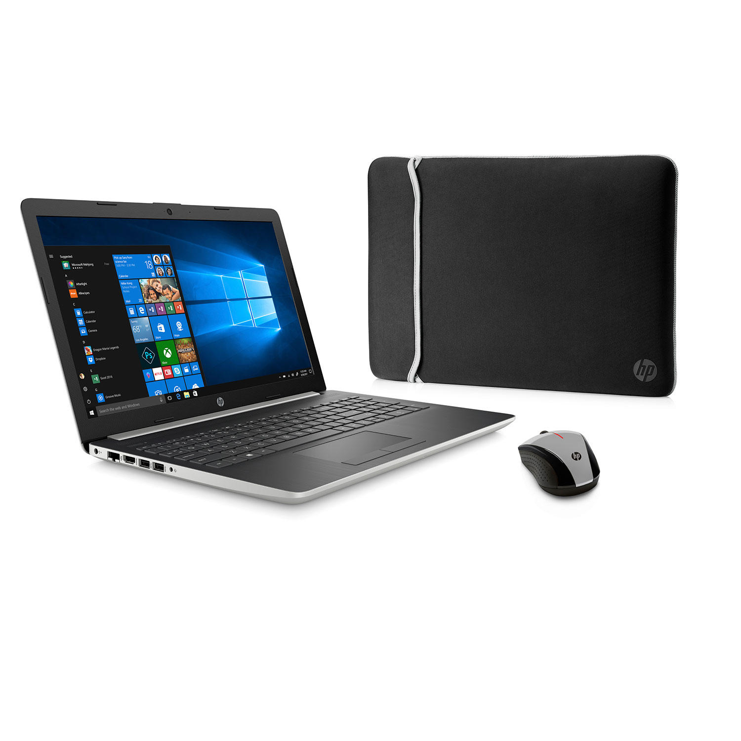 HP 15-db1973cl 15.6″ Touch Laptop with AMD Ryzen 7, 8GB RAM, 512GB SSD + 2 Year Warranty Care Pack with Accidental Damage Protection