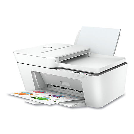 HP DeskJet Plus 4155 All-in-One Printer, Copy; Fax; Print; Scan