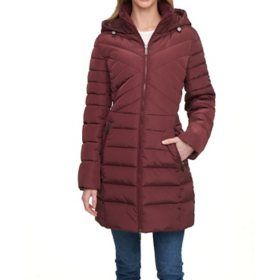 Kenneth Cole Women's Long Down Coat