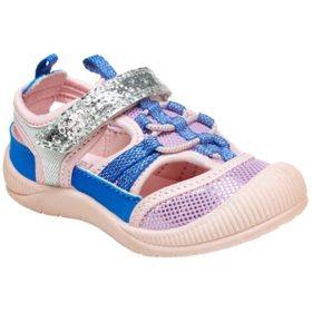 OshKosh B'gosh Girls' Bump Toe Sandal