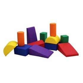 SoftScape 12-Piece Toddler Builder Block Set, Assorted