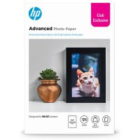 "HP Advanced Glossy 4"" x 6"" 125-Sheet Photo Paper, 9JF90A"
