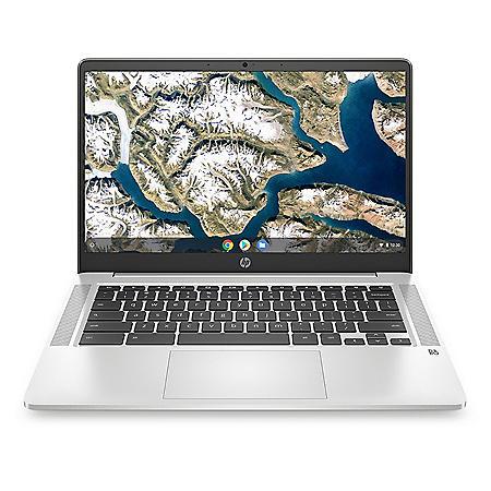 """HP - 14"""" HD Chromebook - Intel Celeron N4000 - 4GB Memory - 32GB eMMC - 1 Year Warranty - Chrome OS"""