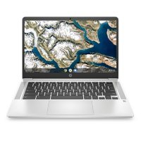 Deals on HP 14a-na0010nr 14-in HD Chromebook w/Intel Celeron N4000