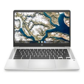 "HP - 14"" HD Chromebook - Intel Celeron N4000 Processor - 4GB Memory - 32GB eMMC - 2 Year Warranty Care Pack - Chrome OS"
