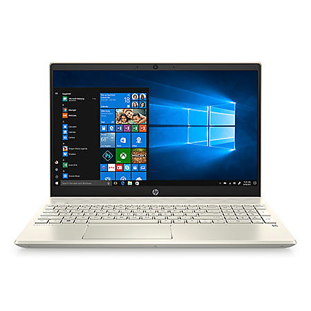 "HP - Pavilion - 15.6"" Full HD Touchscreen Laptop - 10th Gen Intel Core i7 Processor - 8GB RAM + 32GB Intel Optane - 512GB Solid State Drive - Backlit Keyboard with Numeric Keypad - 2 Year Warranty Care Pack - Windows 10 Home (Warm Gold)"