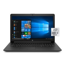 "HP  - 17.3"" HD+ Laptop - 10th Gen Intel Core i3 Processor - 20GB Memory: 4GB Memory + 16GB Intel Optane - 1TB HDD - Numeric Keypad - DVD-Writer - 2 Year Warranty Care Pack - Windows 10 Home"