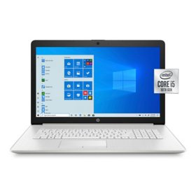 "HP - 17.3"" HD+ Laptop -  10th Gen Intel Core i5 -  8GB Memory - 256GB Solid State Drive - Numeric Keypad - DVD-Writer - 2 Year Warranty Care Pack - Windows 10 Home"
