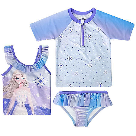 Licensed Girl's Swimwear Set