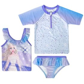 Licensed Girl's Swimwear Set