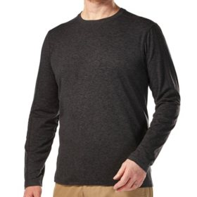 Free Country Men's Brushed Crew Neck Shirt
