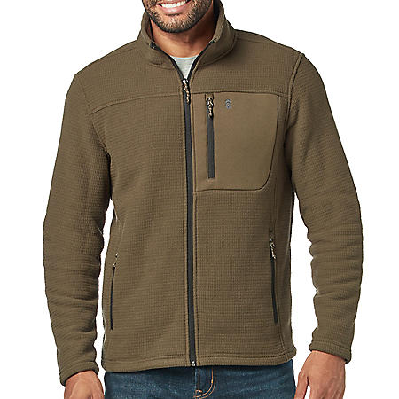 Free Country Men's Grid Fleece Jacket