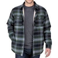 Free Country Men's Sherpa Lined Shirt Jacket