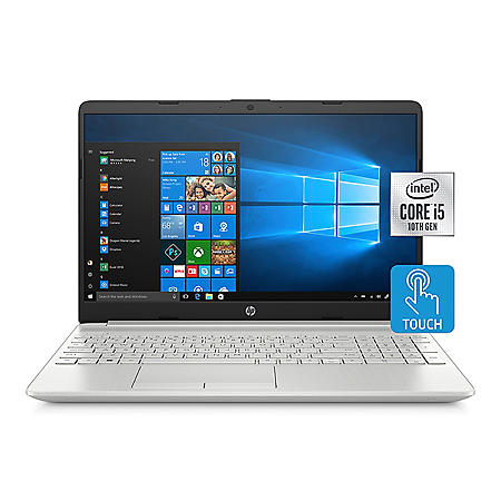 "HP - 15.6"" HD Touchscreen Laptop - 10th Gen Intel Core i5 Processor -  8GB Memory - 256 GB Solid State Drive - Backlit Keyboard with Numeric Keypad - 2 Year Warranty Care Pack - Windows 10 Home (Various Colors)"