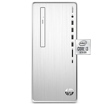 HP - Pavilion - DesktopTower -  10th Gen Intel Core i3 -  4GB+16GB Intel®  Optane™  Memory - 1TB Hard Drive - USB Black Wired Keyboard and Mouse Combo - 2 Year Warranty Care Pack - Windows OS
