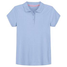 Izod Girls' Short Sleeve Polo