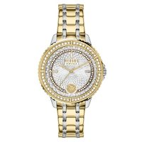 Versus Versace Women's Montorgueil Two Tone Stainless Steel Bracelet Watch, 38mm