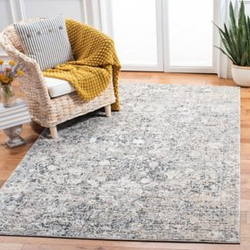 Martha Stewart Elay Area Rug - Slate Grey/Beige, Assorted Sizes