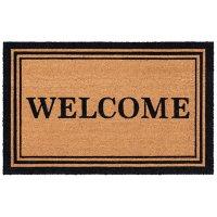 "Safavieh Welcome Estate Coir Mat - 2'6"" x 4'"