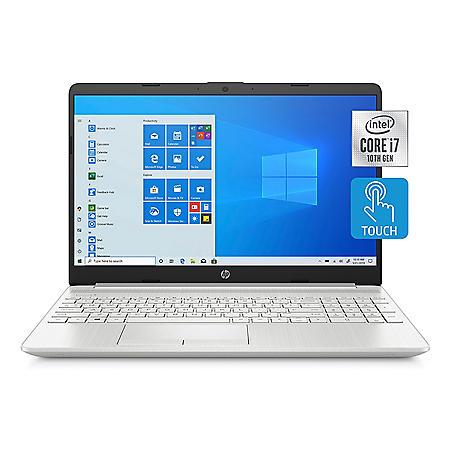 "HP - 15.6"" HD Touchscreen Laptop - 10th Gen Intel Core i7 -  8GB Memory - 512 GB SSD - Intel® Iris® Plus Graphics - 2 Year Warranty Care Pack - Windows 10 Home"