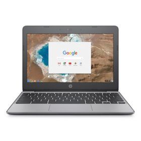 "HP - 11"" HD Chromebook -  Intel Celeron N3060 - 4GB Memory - 16GB eMMC - 2 Year Warranty Care Pack - Chrome OS"