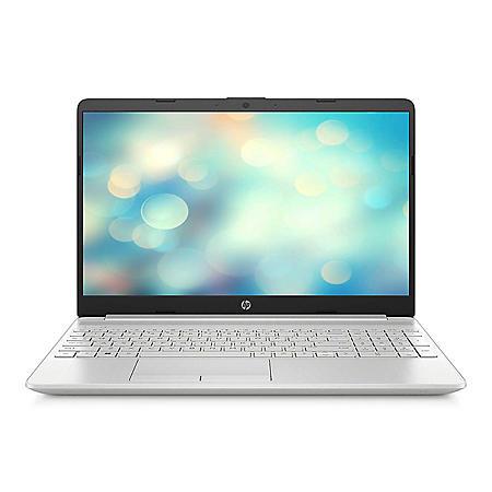 "HP 15.6"" HD Laptop - 10th Gen Intel Core i7-1065G7 -  8 GB Memory, 256GB SSD - Intel® Iris® Plus Graphics - 2-Year Warranty Care Pack - Windows 10 Home - Natural Silver"