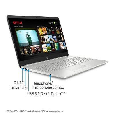 "HP - 15.6"" HD Laptop - 11th Generation Core i5-1135G7 - 8GB RAM - 256GB SSD -Keyboard with Numeric Keypad - 2 Year Warranty Care Pack - Windows 10 - Sam's Club"