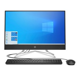 HP All-in-One - 11th Generation Intel® Core™ i5-1135G7 processor - 8GB + 16GB Intel®  Optane™  Memory - 1TB Hard Drive - USB Black Wired Keyboard and Mouse Combo - HP Privacy Camera - 2 Year Warranty Care Pack - Windows 10 Home