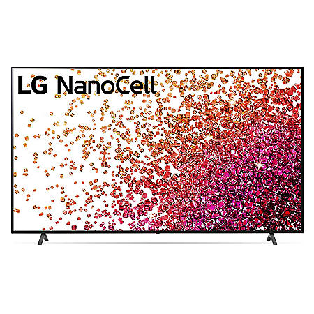 "LG 75"" Class 4K NanoCell Smart Ultra HD TV with ThinQ AI - 75NANO75UPA"