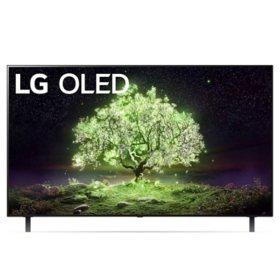 "LG 55"" Class 4K Ultra HD Smart OLED TV w/ ThinQ AI  - OLED55A1AUA"