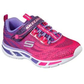 Skechers Girls' Light-Up Sneakers