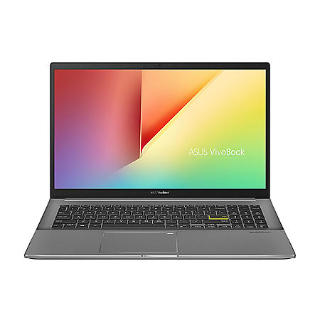 """Asus VivoBook S15 S533 Thin and Light Laptop - 15.6"""" FHD Display - Intel Core i7-1165G7 - 8GB DDR4 - 512GB PCIe SSD - Fingerprint Reader - Wi-Fi 6 - Windows 10 Home"""