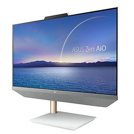 "Asus Zen All-in-One Desktop - 23.8"" Full HD Anti-glare TouchScreen Display - AMD Ryzen 5 5500U Processor - 8GB DDR4 RAM - 512GB NVM PCIe SSD - Windows 10 Home - Kensington Lock"
