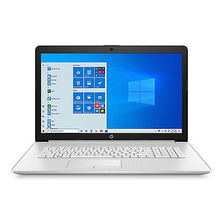 "HP - 17.3"" Full HD Laptop - 11th Generation Core i5-1135G7 - 8GB RAM - 1TB HDD + 256GB SSD -Keyboard with Numeric Keypad - 2 Year Warranty Care Pack - Windows 10"
