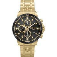 Versus Versace Men's Bicocca Gold Stainless Steel Bracelet Watch, 46mm