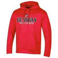NCAA Men's Champion Classic Fit Pullover Hoodie Georgia Bulldogs