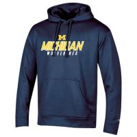 NCAA Men's Champion Classic Fit Pullover Hoodie Michigan Wolverines