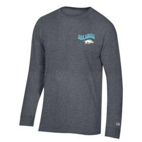 NCAA Champion Lifestyle Graphic Long Sleeve Tee Arkansas Razorbacks