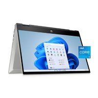 """HP - Pavilion x360 - 14"""" Full HD Touchscreen 2-in-1 Laptop - 11th Generation Intel® Core™ i5-1135G7 - 8GB Memory - 512GB SSD - Intel® Iris® Xe Graphics - 2 Year Warranty Care Pack - Windows 10 Home"""