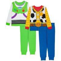 Licensed Toy Story 4 Piece Cotton PJ Set
