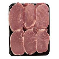 Member's Mark Pork Loin Boneless Chops, Tray (priced per pound)