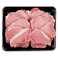 Member's Mark Pork Loin Bone-In Center Cut Chops, Tray (priced per pound)