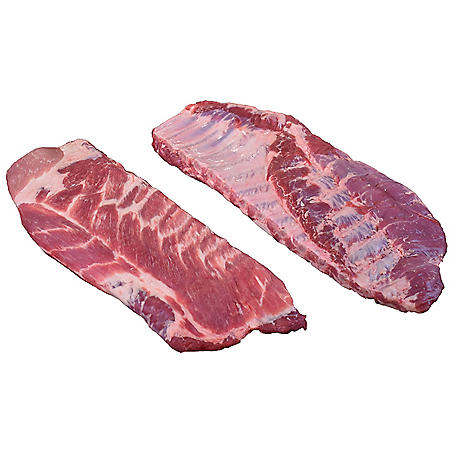 Member's Mark Pork Spare Ribs, Cryovac (2 racks per bag, priced per pound)