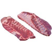 Member's Mark Pork Spare Ribs, Cryovac (2 racks per bag, priced per pound)