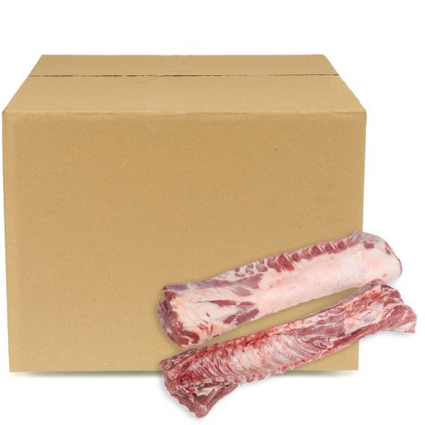Case Sale: Bone-in Pork Loin (2 bags per box, priced per pound)