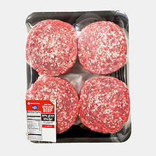 90/10 Lean Ground Beef Patties (Priced Per Pound)