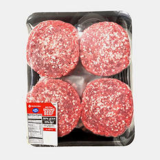 Member's Mark 90/10 Lean Ground Beef Patties (priced per pound)